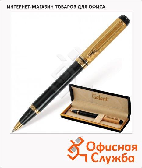 Ручка шариковая Galant Classic 0.7мм, синяя, черный/золотой корпус