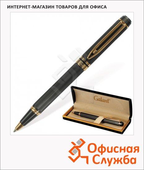 Ручка шариковая Galant Dark Chrome синяя, 0.7мм, матовый хром корпус
