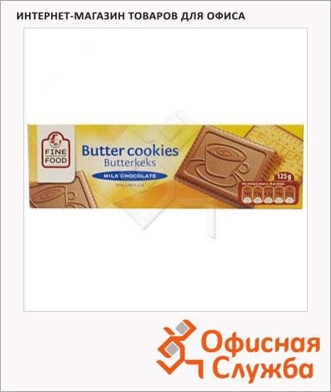 фото: Печенье в молочном шоколаде