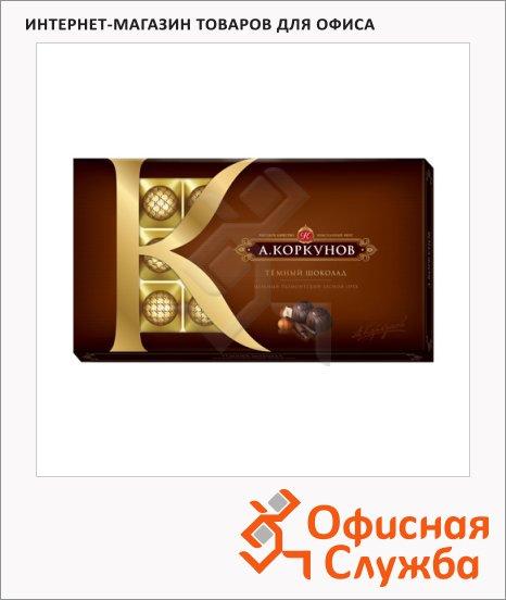 фото: Конфеты Коркунов темный шоколад с лесным орехом 190г