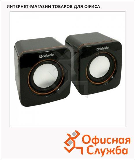Колонки компьютерные Defender SPK-530, 2х2Вт, черные, 2.0