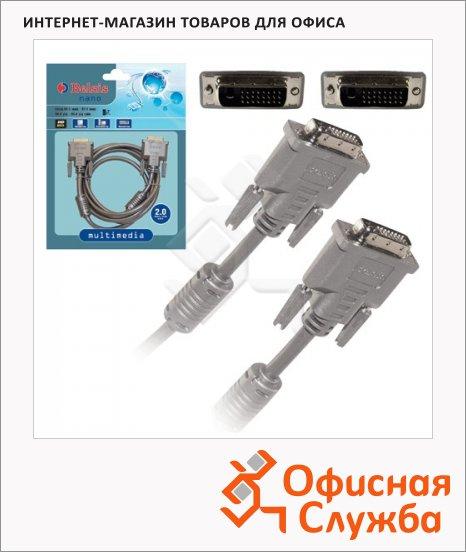 фото: Кабель соединительный DVI-D-DVI-D Belsis DVI-D-DVI-D (m-m) 2 м Dual Link, BW1470