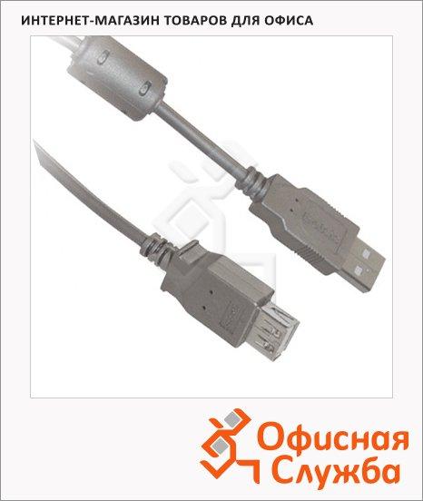 Кабель USB 2.0 Belsis USB 2.0 A-A (m-f) 1.8 м, BW1401