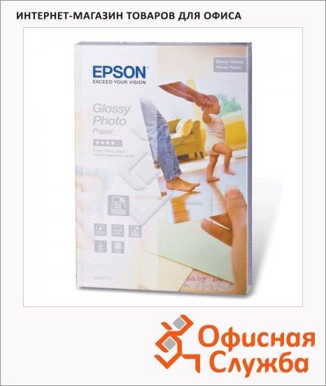 фото: Фотобумага для струйных принтеров Epson А6 50 листов, 10х15см, 225 г/м2, глянцевая, C13S042176