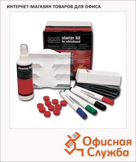 Набор для магнитной маркерной доски 2x3 27 предметов