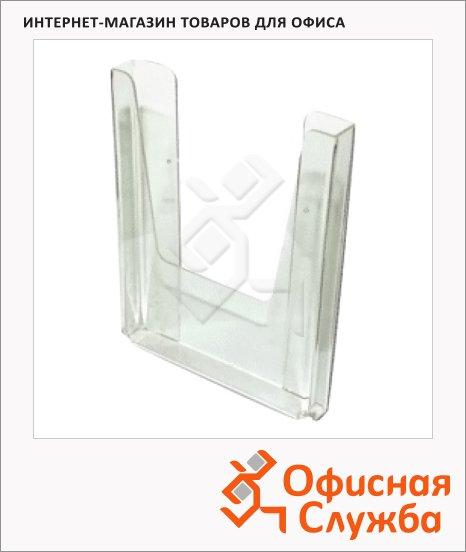 фото: Лоток навесной для бумаг А4 290x215x32мм, прозрачный, №12