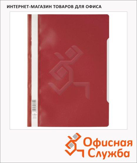 Скоросшиватель пластиковый Durable красный, А4, 2573-03