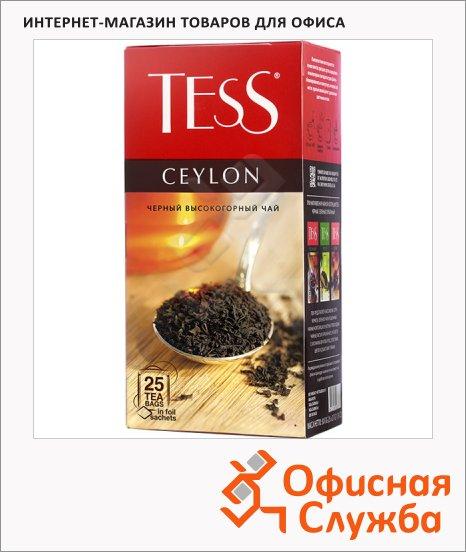 фото: Чай Tess Ceylon (Цейлон) черный, 25 пакетиков