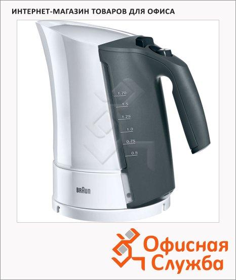Чайник электрический Braun Multiquick 3 WK300 белый, 1.7 л, 3000 Вт