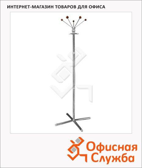 Вешалка-стойка напольная Титан Классикс-Д, сталь, 1830х520мм