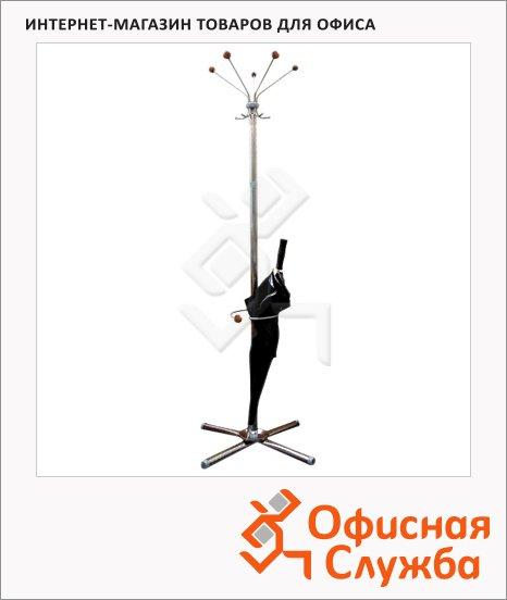 Вешалка-стойка напольная Титан Классикс-ЗД, сталь, 1830х520мм