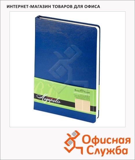 Ежедневник недатированный Bruno Visconti Megapolis синий, А5, 160 листов
