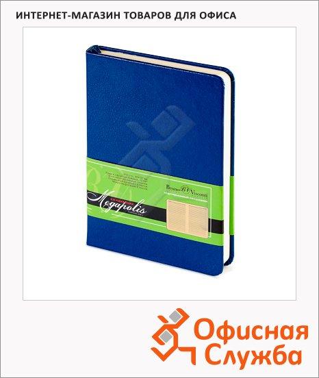 фото: Ежедневник недатированный Bruno Visconti Megapolis синий А6, 100 листов