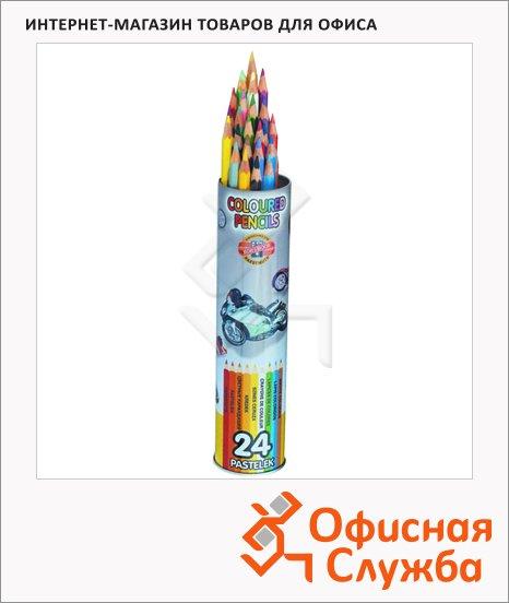 Набор цветных карандашей Koh-I-Noor 24 цвета, 3577