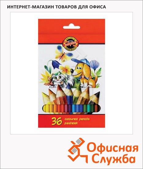 Набор цветных карандашей Koh-I-Noor 36 цветов, 3585