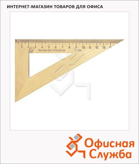 Угольник Можга С-15 18см, 30°/60°, деревянный