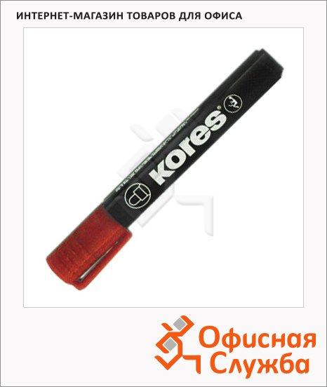 фото: Маркер перманентный Kores красный 1.5-3мм, круглый наконечник