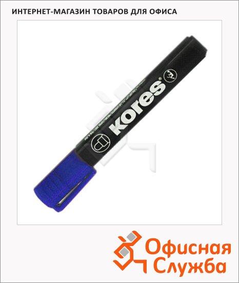 фото: Маркер перманентный Kores синий 1.5-3мм, круглый наконечник
