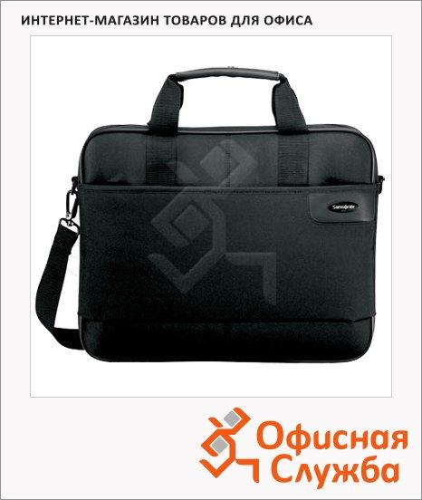 "Сумка для ноутбука Samsonite 15.4"", 410х315х115 мм, черная"