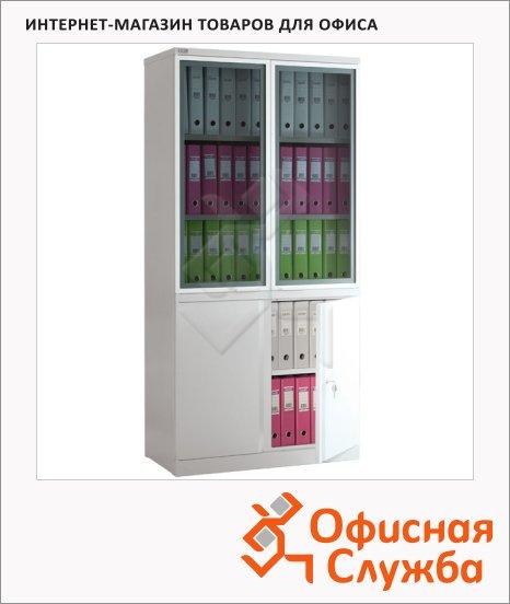 Шкаф металлический для документов Nobilis NM-1991/2G для документов, 1900x918x458мм
