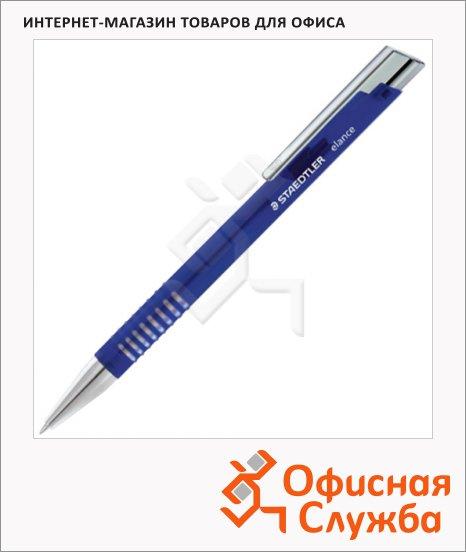 фото: Ручка шариковая автоматическая Staedtler Elance M синяя 0.5мм