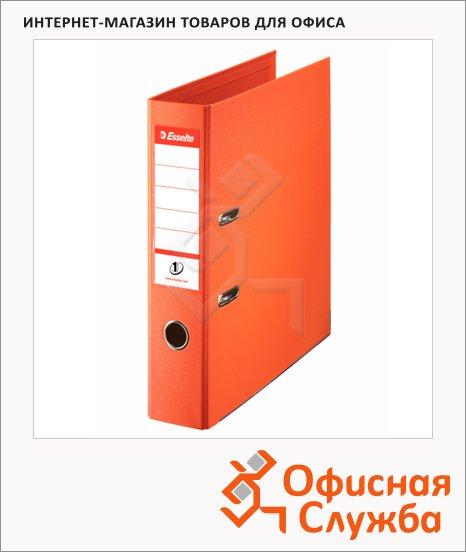 фото: Папка-регистратор А4 Esselte №1 оранжевая 75 мм, 811340