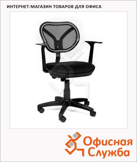 фото: Кресло офисное Chairman 450 ткань TW, крестовина пластик, NEW, черная