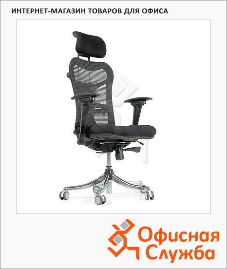 Кресло руководителя Chairman 769 ткань, крестовина хром, черная