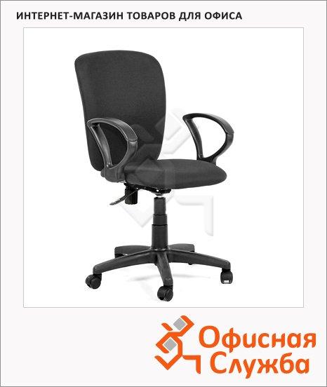 Кресло офисное Chairman Эрго-элегант ткань, крестовина пластик, черная