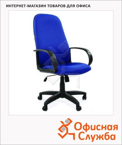Кресло офисное Chairman 279 JP, черно-голубое