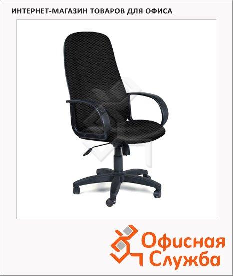 Кресло руководителя Chairman 279 ткань, TW, крестовина пластик, черная