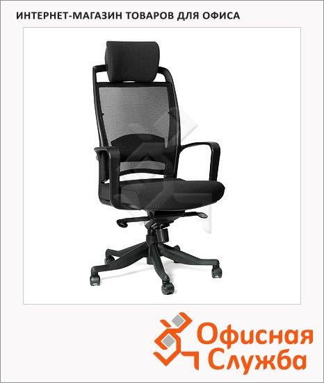 Кресло руководителя Chairman 283 ткань, крестовина пластик, черная