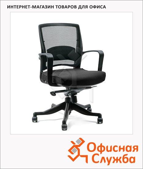 фото: Кресло офисное Chairman 284 ткань черная, крестовина пластик