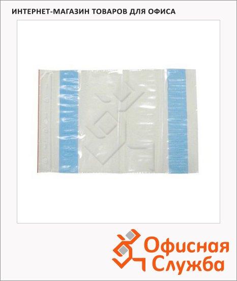 Пакет почтовый полиэтиленовый Docufix С5 белый, 240х160мм, 70мкм, 250 шт, стрип