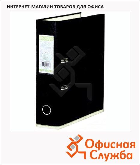 фото: Папка-регистратор А4 Bantex DoubleColour черная/жемчуг 50 мм