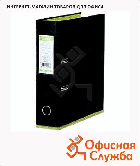 Папка-регистратор А4 Bantex DoubleColour черная/лайм, 50 мм