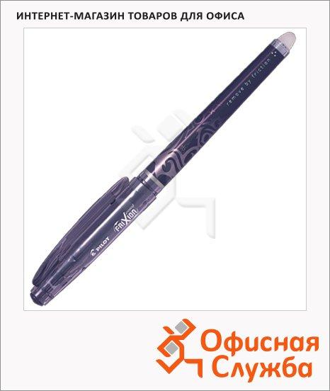 Ручка гелевая стираемая Pilot Frixion Рoint черная, с ластиком, BL-FRP5, 0.25мм