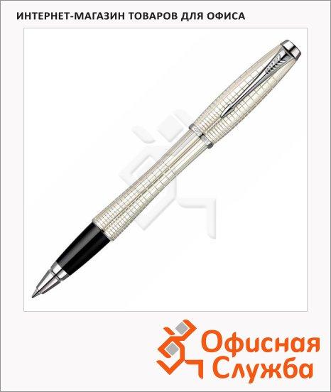 Ручка-роллер Parker Urban Premium T204 F, черная, перламутровый корпус