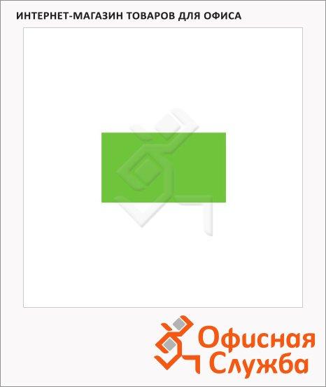 Этикет-лента прямоугольная 12х21.5мм, 800шт/рул, 200рул, зеленая