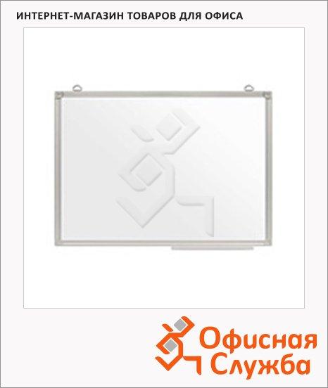 Доска магнитная маркерная Attache Эконом 90х120см, лаковая, белая, алюминиевая рама