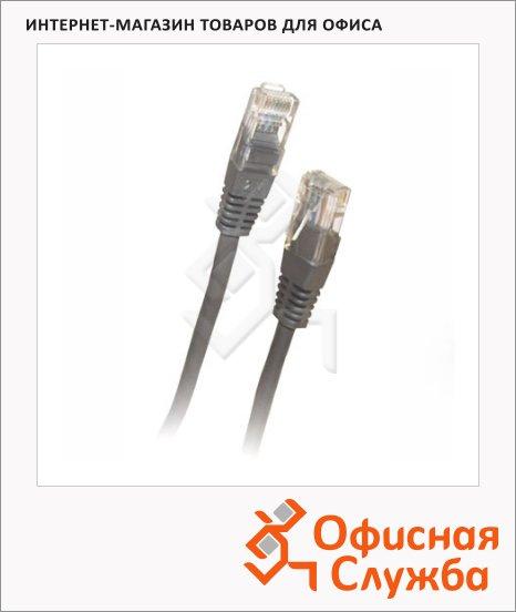 Патч-корд Belsis 8p8c (RJ45)-8p8c (RJ45) (m-m) 5 м, серый, UTP 5E, BW1482