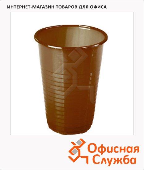 Стакан одноразовый Huhtamaki коричневый, 180мл, 100шт/уп