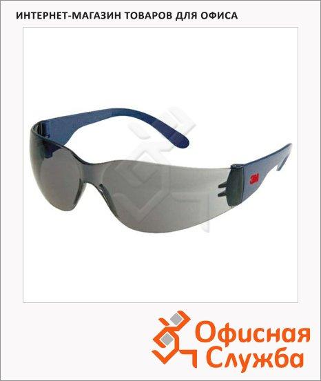 Очки защитные 3m дымчатые, открытые, 2720