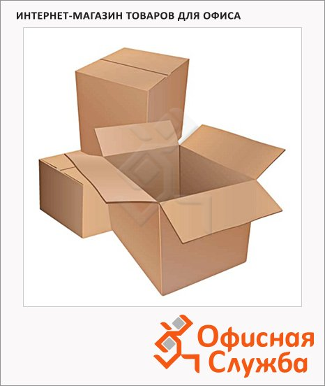 фото: Короб упаковочный Т22 профиль В 46х32х21см картон, 10 шт/уп, 3х слойный