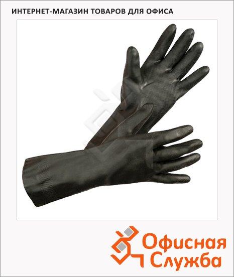 фото: Перчатки защитные Ампаро Зевс р.L (9) неопрен, черные, 457417