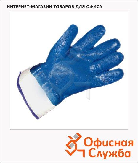 фото: Перчатки защитные Ампаро Нитрос КП р.10-10.5 нитриловое покрытие, 448565