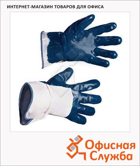 фото: Перчатки защитные Ампаро Нитрос КЧ р.9 нитриловое покрытие, 448575