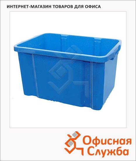 фото: Ящик для хранения штабелируемый пластиковый 60х40х34см, 60л
