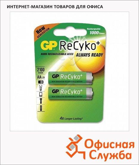 Аккумулятор Gp ReCyko AA/R6, 2100mAh, 2шт/уп