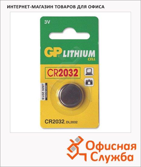 фото: Батарейка Gp CR2032 3В, литиевая